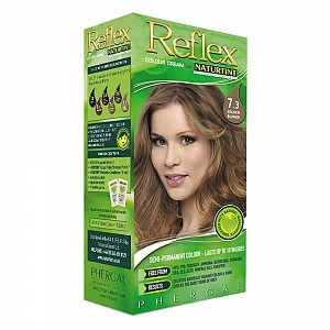 Reflex from Naturtint Semi-Permanent Colour Cream 7.3 Golden Blonde