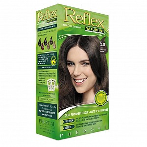 Reflex Semi-Permanent Colour Cream 5.0 Light Chestnut Brown